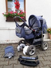Kinderwagen Sportwagen in Jeansoptik