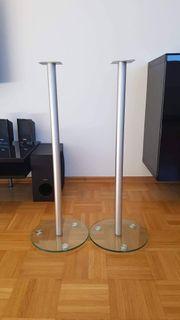 Lautsprecherhalter Säulen für TV HiFi