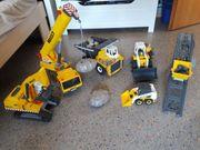 Playmobil Baustellenfahrzeuge Set