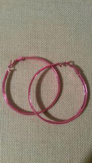 Creolen pink