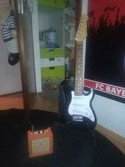 E Gitarre mit