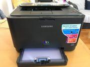 Samsung Farblaserdrucker CLP-315 inkl NEUEM