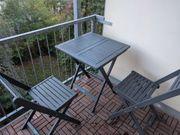 Balkonmöbel 1 Tisch 2 Stühle