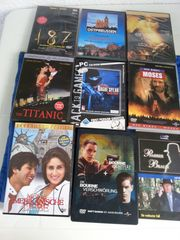 9-Stück gebraucht DVD Filme zu