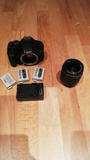Canon EOS 600D mit Zubehör