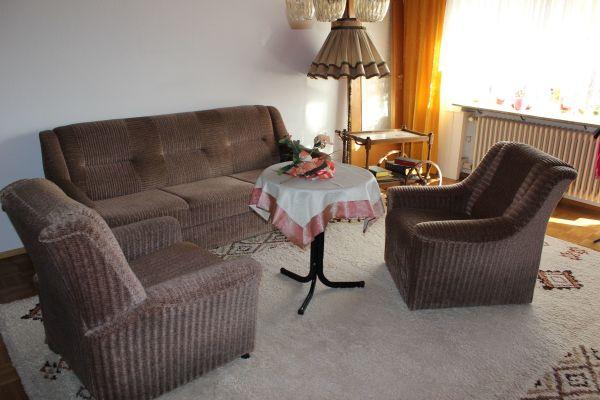 Guterhaltene Couch-Garnitur » Polster, Sessel, Couch