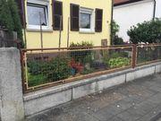 Gartenzaun & Hoftor zu