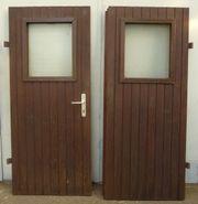 Doppeltür, Holztür, Holz