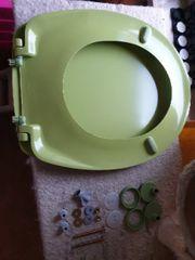Wesco WC-Sitz grün B-Ware