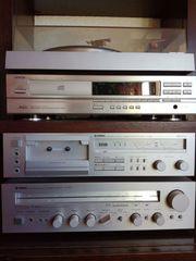 Stereoanlage YAMAHA DENOM mit Plattenspieler