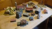 Eisenbahn Modellhäuser, Modellgebäude