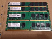 Transcend 4GB 4x1GB DDR2 800