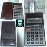 Casio HL-802 Taschenrechner Sammlerstück