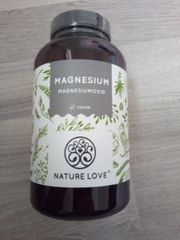 Vegane Magnesium Kapseln Jahresvorrat Neu