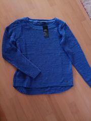 Bändchengarn-Pullover