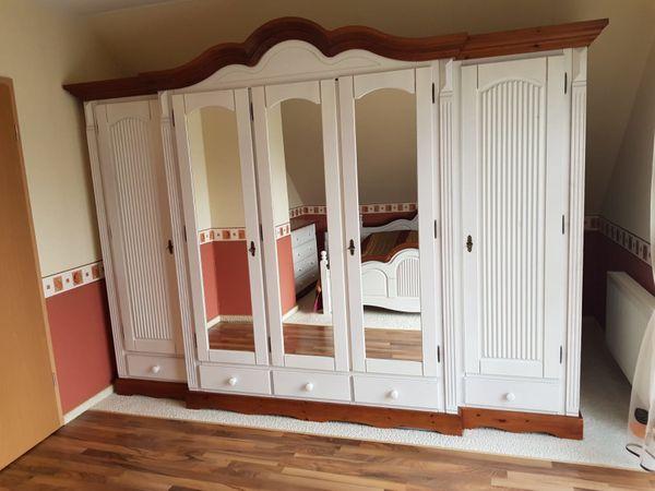 Schlafzimmer Set Komplett Echtholz Weiss In Bad Marienberg Schranke