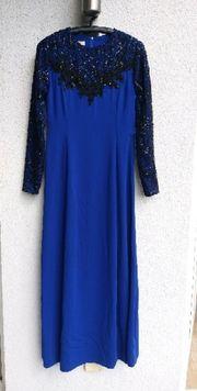 Blaues Kleid Gr 38