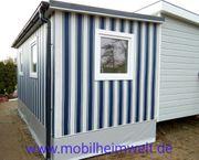 Winterfestes Vorzelt Camping Mobilheim