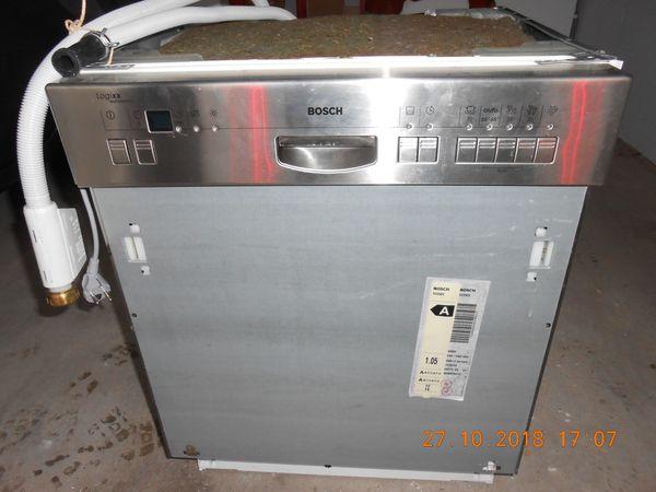Geschirrspülmaschine BOSCH Logixx Automatic Edelstahlfront