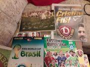 Fußballalben z T mit Bildern