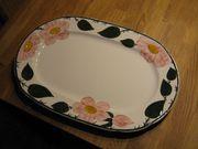 WILD-ROSE ovale Platte 40 cm -