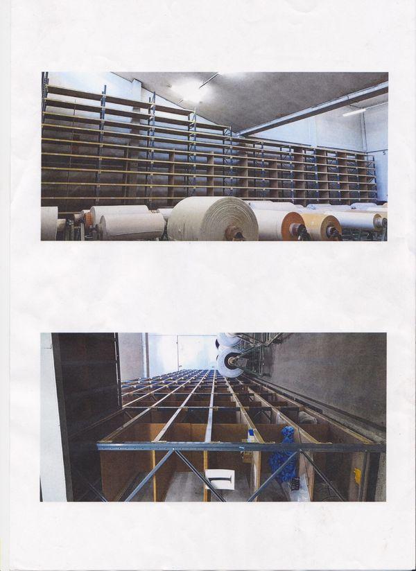 Regal Hochregallager 18x5 Meter Schwerlast