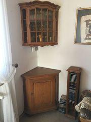 Eckschrank Eiche Rustikal Haushalt Möbel Gebraucht Und Neu